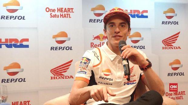 Marc Marquez mulai jadi incaran Ducati. (