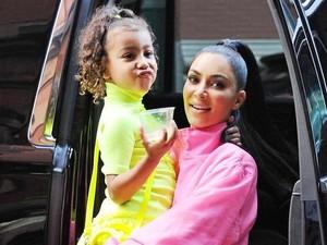 Anggap North West Punya Obsesi Aneh, Kim Kardashian Mengaku Takut