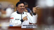 Ekspresi Menkominfo Saat Indonesia Tak Jadi Merdeka Sinyal 2020