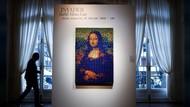 Unik Banget! Lukisan Mona Lisa dari Kubus Rubik Dilelang Rp 2,2 M
