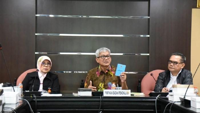 Pimpinan Badan Pengkajian MPR Agun Gunandjar Sudarsa
