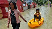 Banjir Rendam Ratusan Rumah di Mojokerto