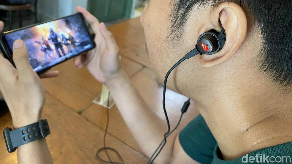 Asus ROG Cetra, Earphone Gaming Bersuara Menggelegar