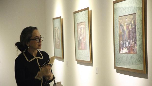 50 Lukisan Seniman Rusia Dipamerkan di Jakarta