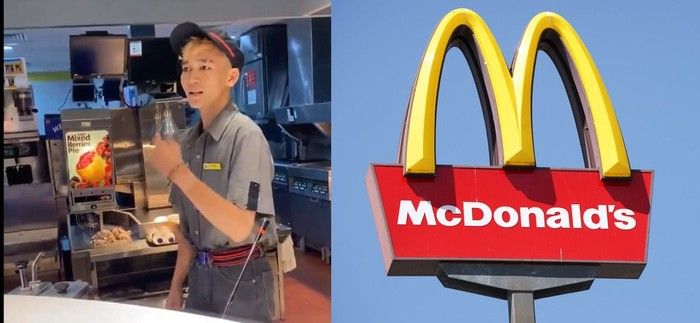 Pelayan McDonalds Penipuan Harga STC Senayan