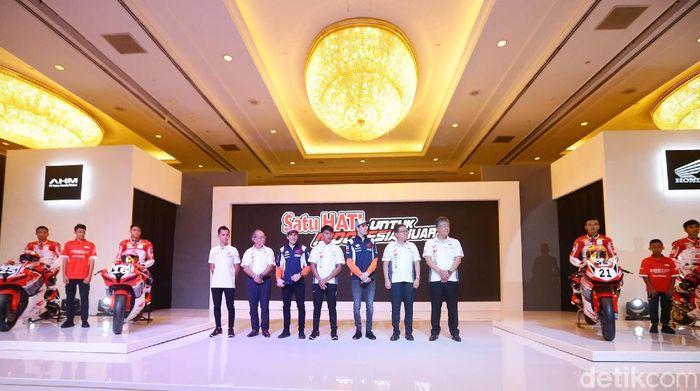 Peluncuran Astra Honda Racing Team di Shangri-la Hotel, Selasa (4/2/2020) sore WIB