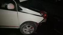 Sebuah Mobil Kecelakaan di Bundaran HI, Penumpang Luka-luka