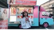 Jung Yoo Mi, Pacar Kangta Saat Pose Manis dengan Kue hingga Susu