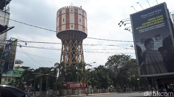 Ilustrasi Medan -- Menara air Medan (Haris Fadhil/detikcom)