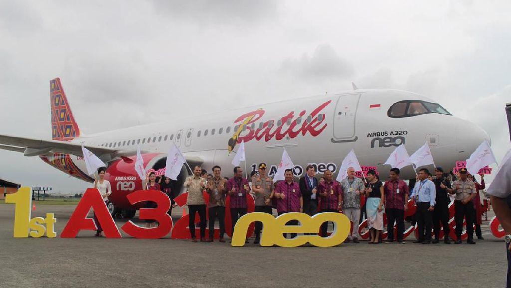 Batik Air Boyong Airbus A320 Neo, Yuk Intip Interiornya!