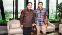 Garap Holding BUMN Pariwisata, Erick Duet Bareng Sandiaga