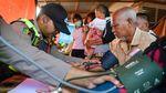 Pemeriksaan Kesehatan Warga Kota Tua Penagi