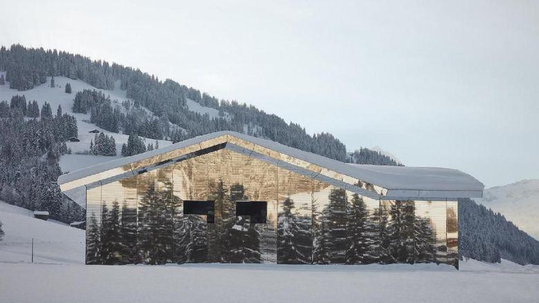 Melihat Pantulan Keindahan Rumah Kaca Swiss
