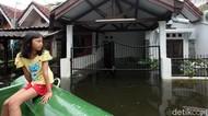 Potret Banjir yang Masih Rendam Kawasan Tangerang