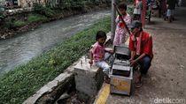 Melihat Sungai Ciliwung Lama yang Bakal Dinaturalisasi