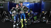 Yamaha Perkasa di Free Practice I MotoGP Andalusia: Vinales Pertama, Rossi Kedua