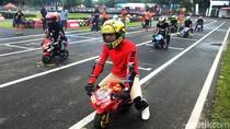 Intip Keseruan Balap Mini MotoGP di Sirkuit Karting Sentul