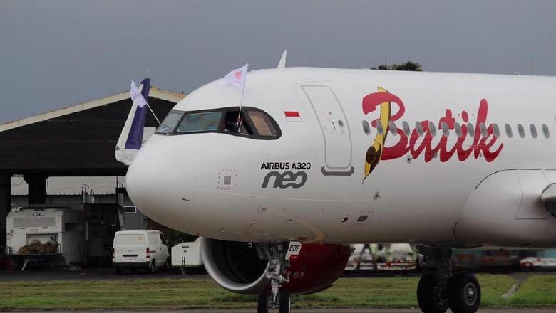 Pesawat Airbus 320-200 Neo Batik Air