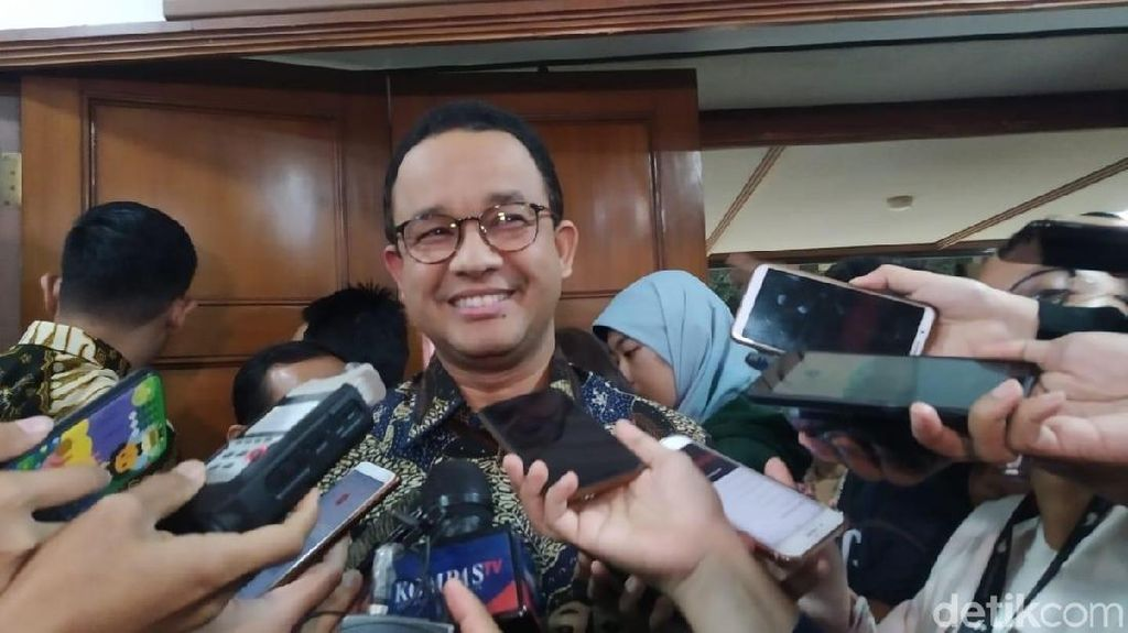 Anies Minta Warga Jakarta Siaga Curah Hujan yang Tinggi