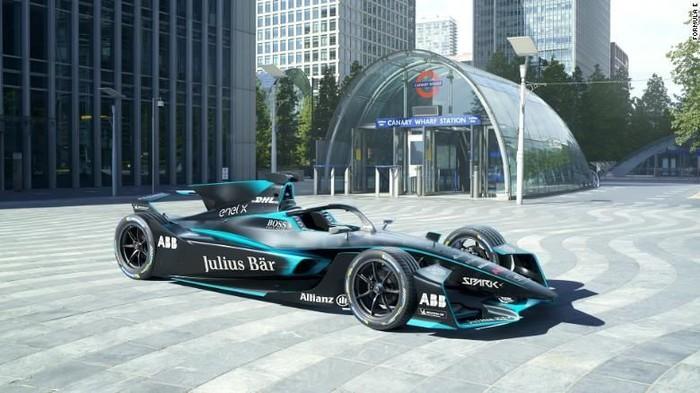 Mobil balap Formula E Gen2 EVO