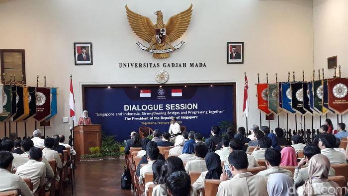 Presiden Singapura Halimah Yacob