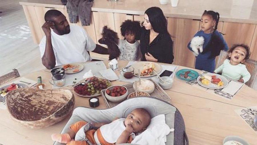 Rumah Kim Kardashian dan Kanye West.