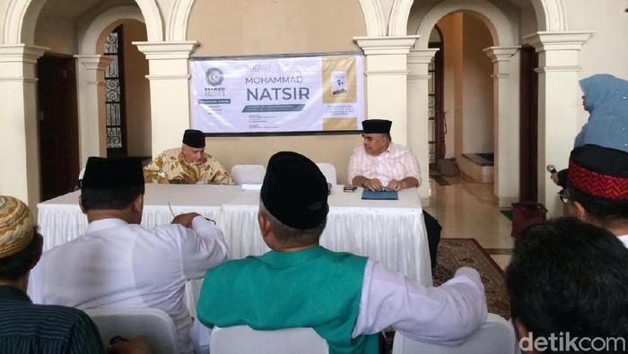 Bedah Buku 'Mohammad Natsir' oleh Parmusi di Kuningan, Jakarta, Kamis (6/2/2020)