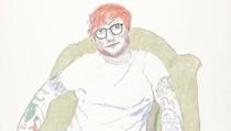 Ed Sheeran Duduk Santai di Lukisan Karya David Hockney