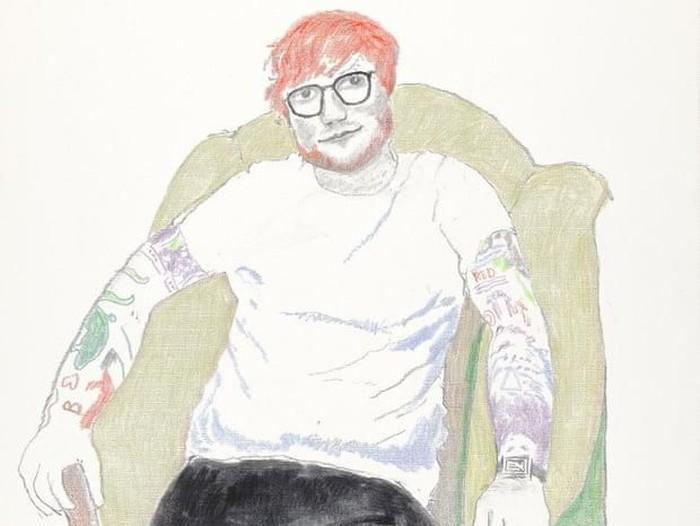 Lukisan Ed Sheeran