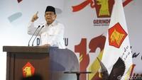 Prabowo Banggakan Gerindra, Singgung Ketum Partai Berpangkat Lebih Tinggi