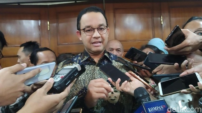 Gubernur DKI Anies Baswedan (Wilda HN/detikcom)