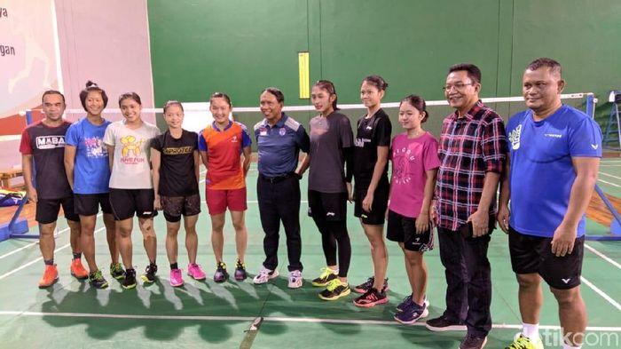 Menpora Zainudin Amali bertemu Atlet Pelatnas PBSI