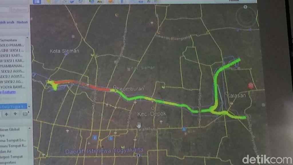 Patok Lokasi Tol Yogya-Solo Mulai Dipasang Agustus
