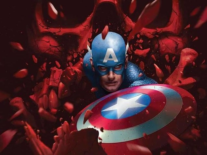 Komik Marvel Captain America: The End #1