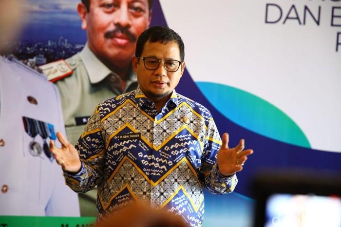 M Nur Abdurrahman-detikcom/ Penjabat Wali Kota Makassar Iqbal Suhaeb