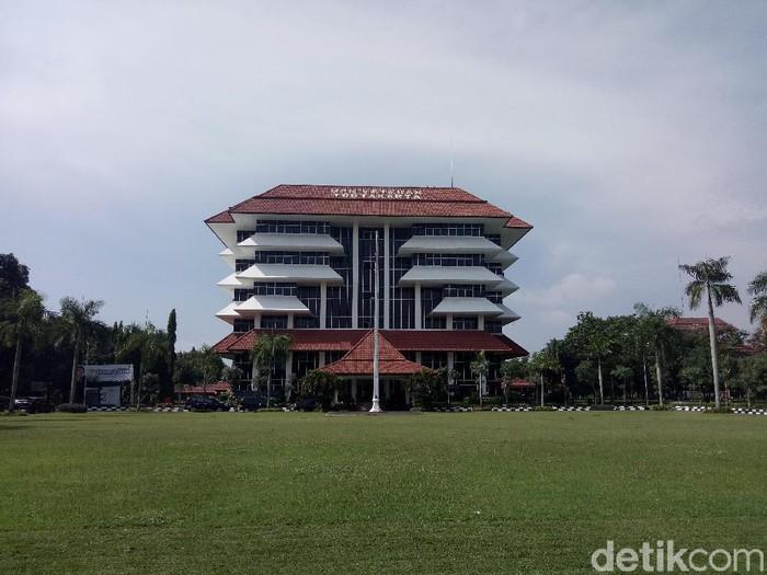 Kampus UPN Veteran Yogyakarta, Slema, Kamis (6/2/2020).