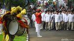 Prabowo Semringah Hadiri HUT ke-12 Partai Gerindra