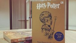 Potterhead, Ada Sampul Spesial Harry Potter dan Batu Bertuah Nih!
