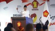 Prabowo Subianto Akan Dikukuhkan Pimpin Gerindra Lagi