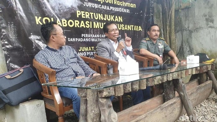 Ngopi Sore dan Bincang-bincang Kebangsaan bagian perayaan Cap Go Meh di Padang (Jeka Kampai/detikcom)