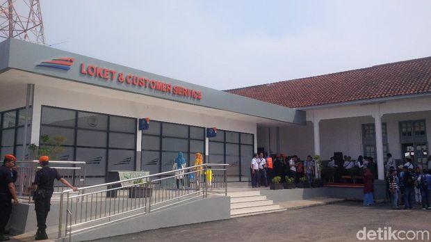 Penataan Stasiun Jatibarang, PT KAI Berencana Bangun Monumen Soekarno