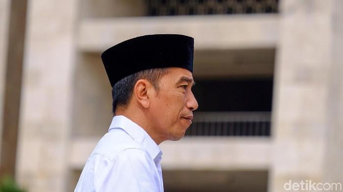 Presiden Jokowi (Andhika Prasetia/detikcom)