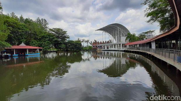 Taman Wisata Pancuran mas di Purbalingga Jawa Tengah