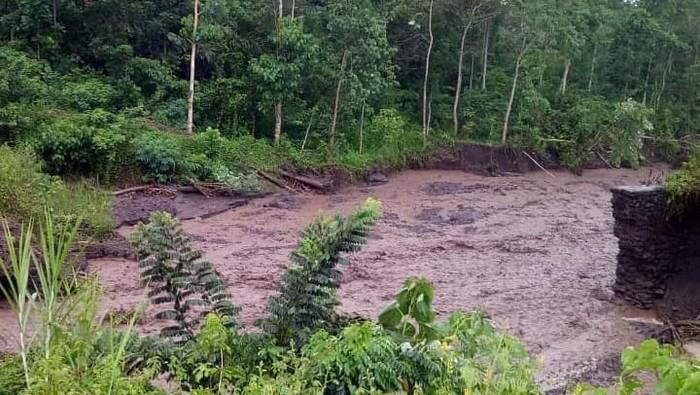 DOK ISTIMEWA/ Banjir di Karangasem Bali Jumat (7/2/2020)