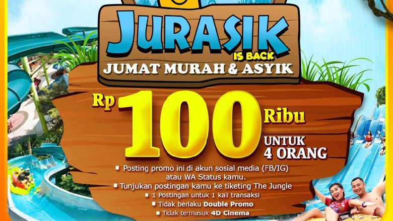 Promo The Jungle Waterpark Bogor.