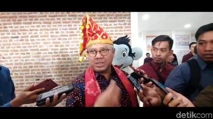 Ketua KPU RI Arief Budiman (M Qadri/detikcom)