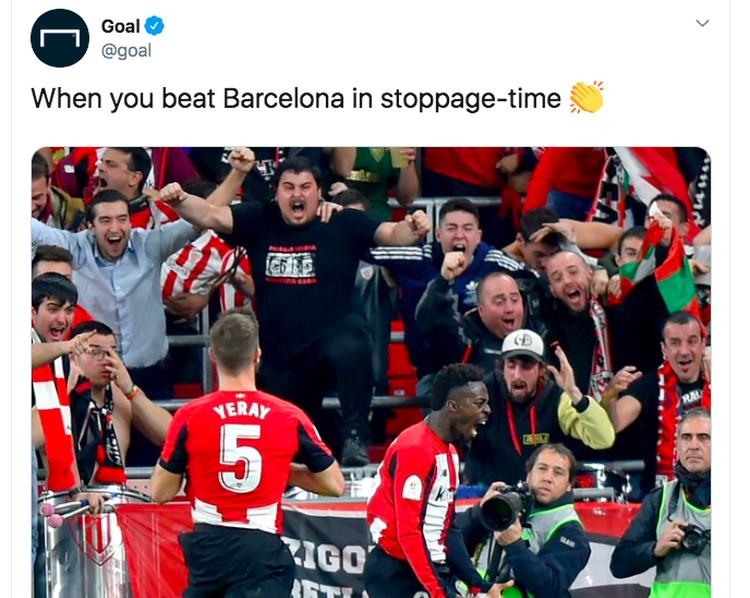 Barca Madrid meme