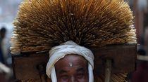 Tradisi Jerami Pembawa Berkah di Nepal