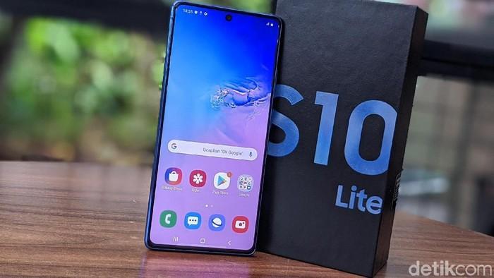 Samsung Galaxy S10 Lite Resmi Masuk Indonesia, harganya Rp 8,9 juta.