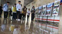 Gaya Jokowi Pakai Peci Saat Tinjau Renovasi Masjid Istiqlal
